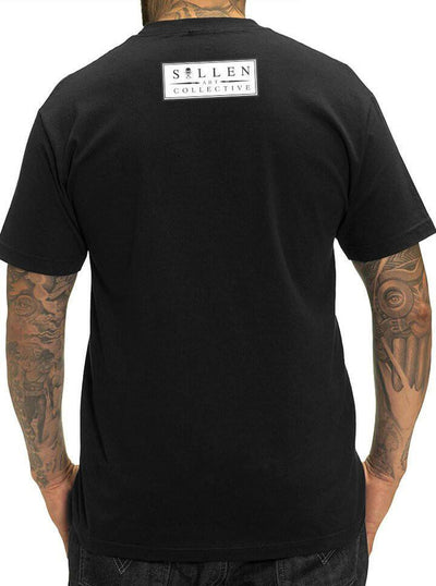 "Men's ""Kron"" Tee by Sullen (Black) - www.inkedshop.com"