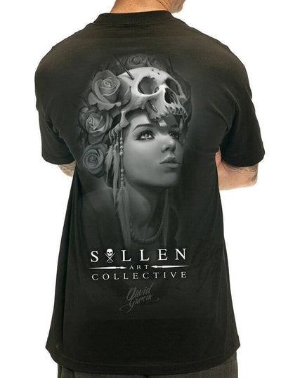 "Men's ""Garcia Badge"" Tee by Sullen (Black) - www.inkedshop.com"