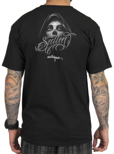 "Men's ""Dark Grey"" Tee by Sullen (Black) - www.inkedshop.com"