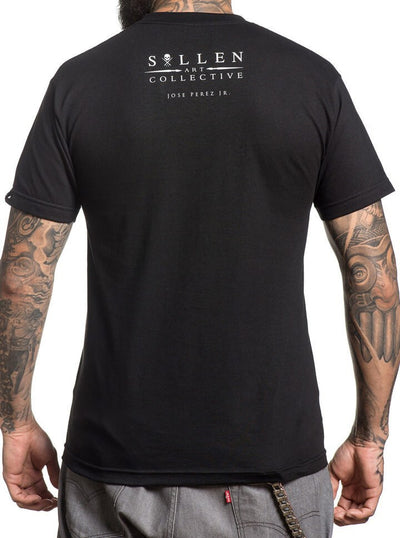"Men's ""Jose Perez Jr"" Tee by Sullen (Black) - www.inkedshop.com"