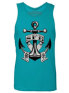 "Men's ""SFB Anchor"" Tank by Steadfast Brand (Tahiti Blue)"
