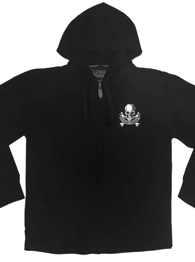 Men's I Shoot Back Zip-Up Hoodie by Lethal Threat