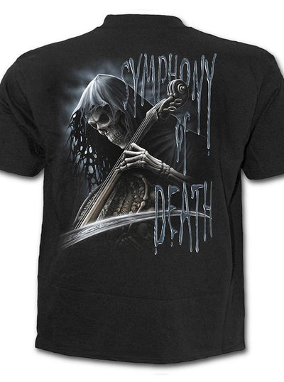 "Men's ""Symphony of Death"" Tee by Spiral USA (Black)"