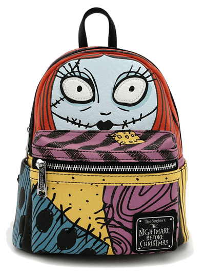 """Sally Cosplay"" Mini Faux Leather Backpack by Loungefly x Nightmare Before Christmas (Multi)"
