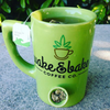 """Wake & Bake Coffee Co."" Mug (Green)"