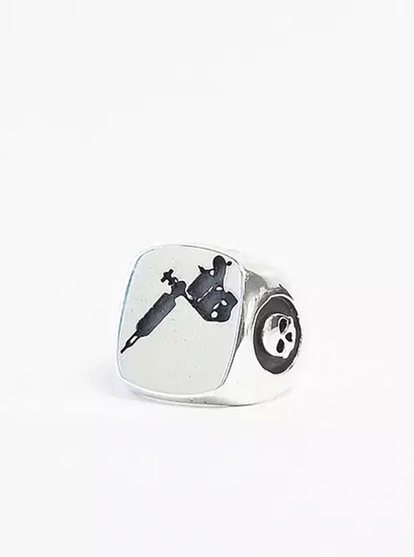Tattoo Gun Ring by Lor G Jewellery