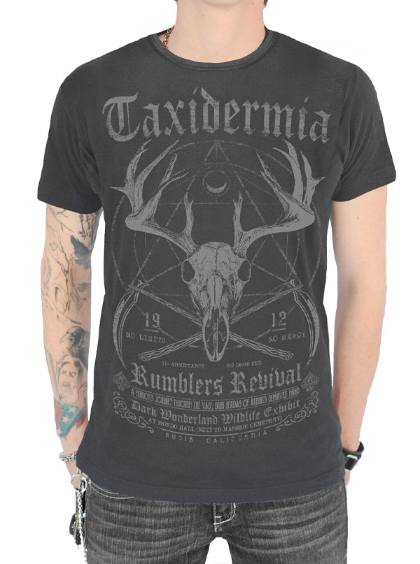 Men's Taxidermia Tee by Serpentine Clothing