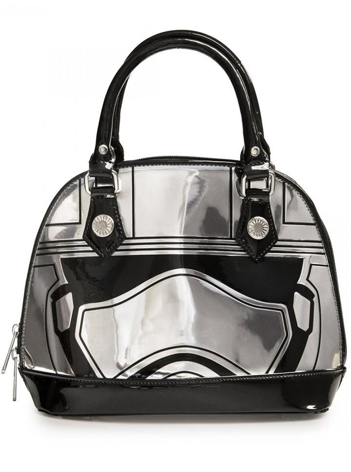 Star Wars Force Awakens Captain Phasma Embossed Mini Dome Bag by Loungefly