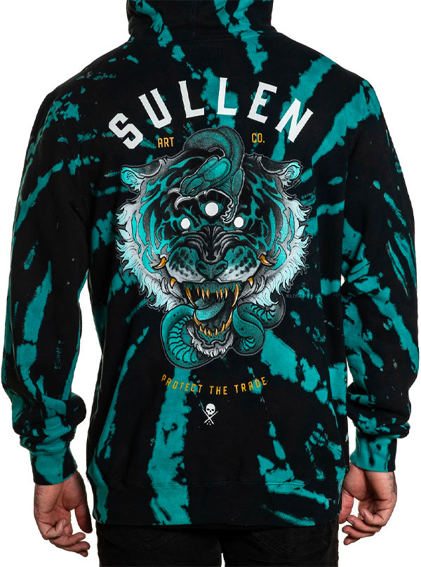 Men's 3 Eye Tiger Hoodie by Sullen