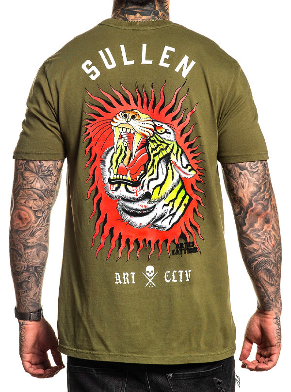 Men's Tigear Tee by Sullen