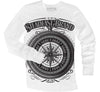 Steampunk Compass Men's Thermal (white)