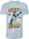 "MEN'S  ""KITTY KONG"" TEE (blue)"