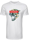 MEN'S SAVAGE TEE (white)