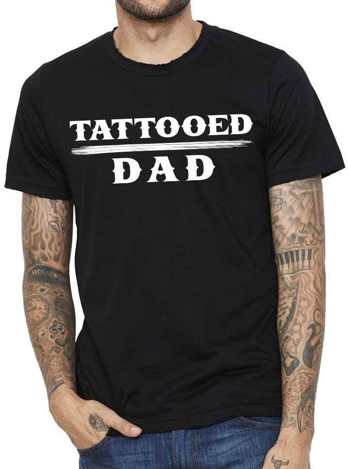 "Men's ""Tattooed Dad"" Tee by Steadfast Brand (Black)"