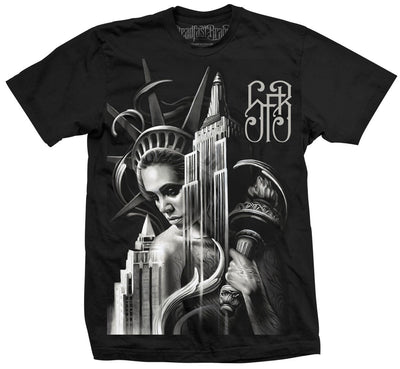 Men's Lady Liberty Tee by Steadfast Brand