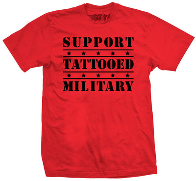 Men's SFB Support Tattooed Military Tee by Steadfast Brand