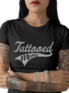 "Women's ""Tattooed Mami"" Tee by Tat Daddy (Black)"