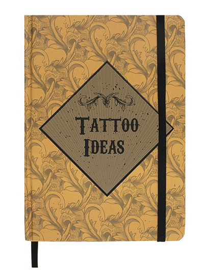 """Tattoo Ideas A5 Notebook"" by Skulls & Things"