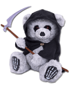 """Ted The Grim"" Teddy Bear by Spiral USA"