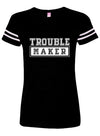 "Women's ""Trouble Maker"" Tee by Tat Daddy (Multi)"