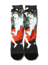 """Tamatorihime"" Irezumi Socks Designed By Horihiro Mitomo By Three Tides Tattoo"