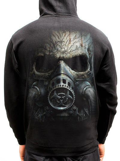 Men's Bio Skull Hoodie by Spiral USA
