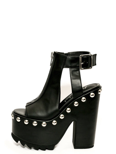 Women's Unzipped Platforms by Charla Tedrick