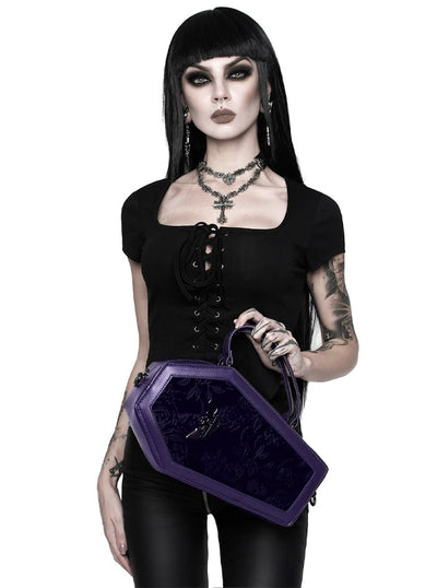 Vampire's Kiss Coffin Handbag by Killstar