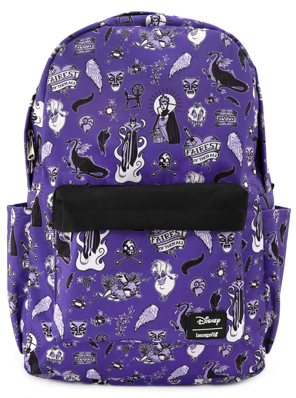 Disney Villain Backpack by Loungefly