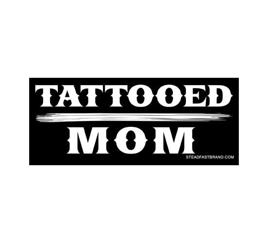 Tattooed Mom Vinyl Sticker