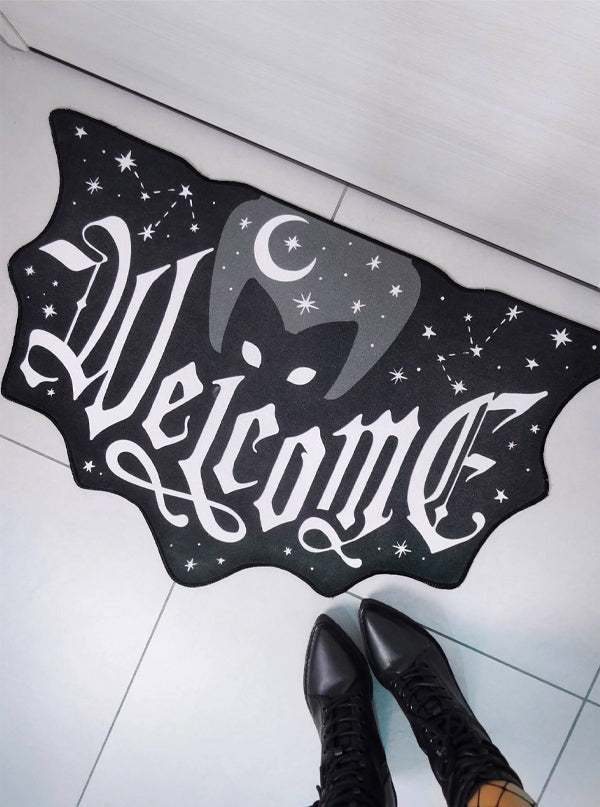 Welcome Doormat by Killstar