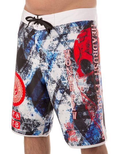 Men's No Mercy Board Shorts by Headrush Brand
