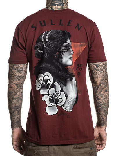 Men's Blaq Widow Tee by Sullen