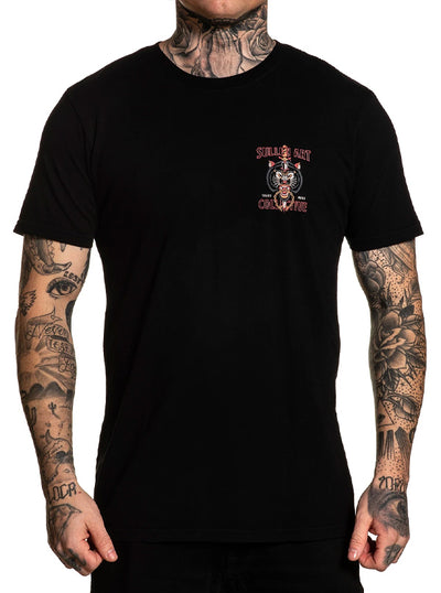 Men's Wolf Dagger Tee by Sullen