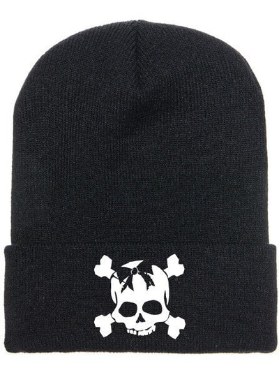 """Skully"" Beanie by Beautiful Disaster (More Options) - www.inkedshop.com"