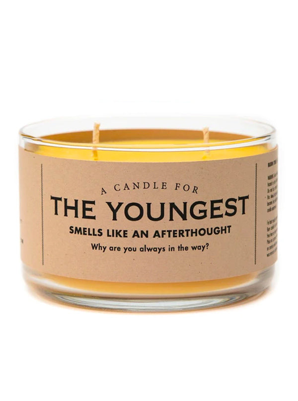 The Youngest Child Candle