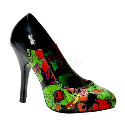 "Zombie 4 4 1/2"" Pump by Demonia - InkedShop - 1"