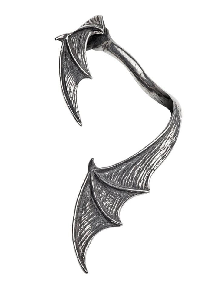 """A Night With Goethe"" Ear Wrap by Alchemy of England (Pewter) - www.inkedshop.com"