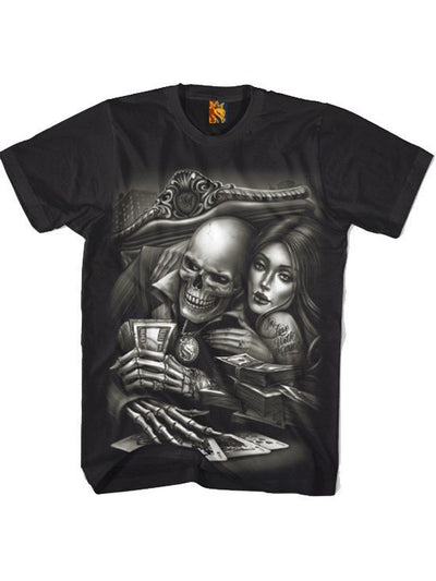 "Men's ""In Love W Game 013"" Tee by OG Abel (Black) - www.inkedshop.com"