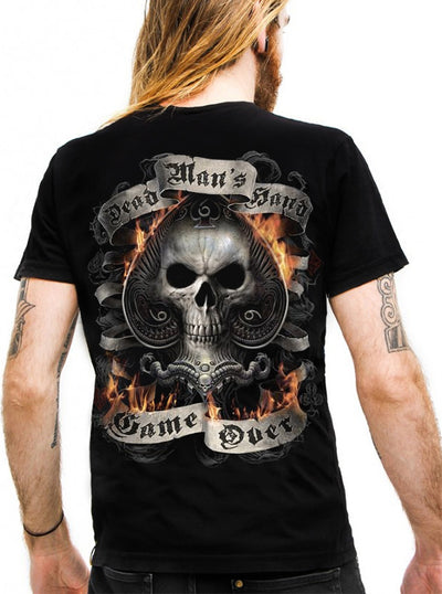 "Men's ""Ace Reaper"" Tee by Spiral USA (Black)"