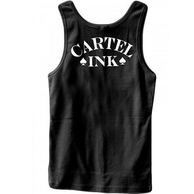 "Men's ""Addicted To Ink"" Tank by Cartel Ink (Black) - www.inkedshop.com"