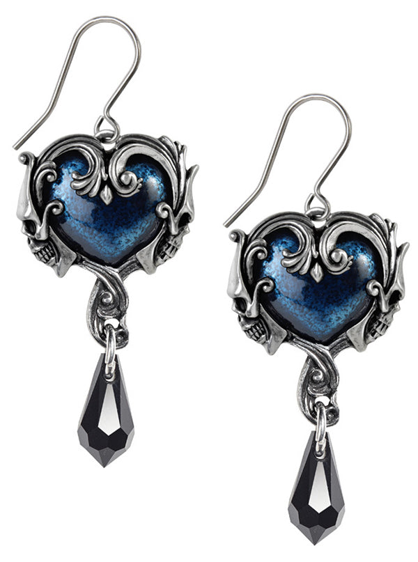 """Affaire Du Coeur"" Earrings by Alchemy of England"