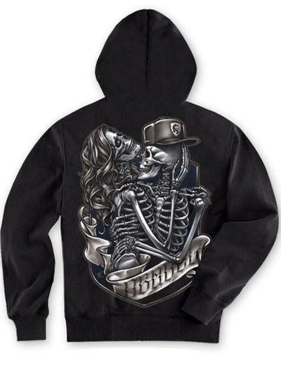 "Men's ""Everlasting"" Hoodie by OG Abel (Black) - www.inkedshop.com"