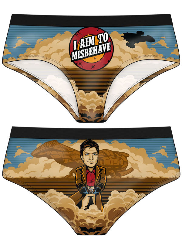 Women's Aim to Misbehave Panties by Harebrained!