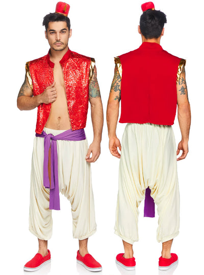 Men's Desert Prince Costume by Leg Avenue
