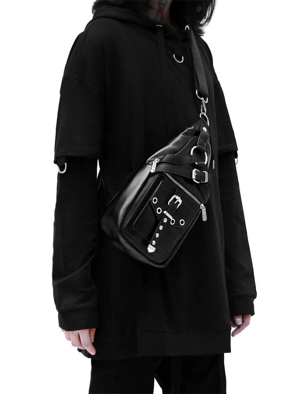 Alexander Cross-Body Bag by Killstar