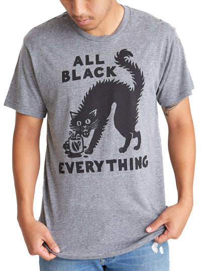 Men's All Black Everything Tee by Pyknic