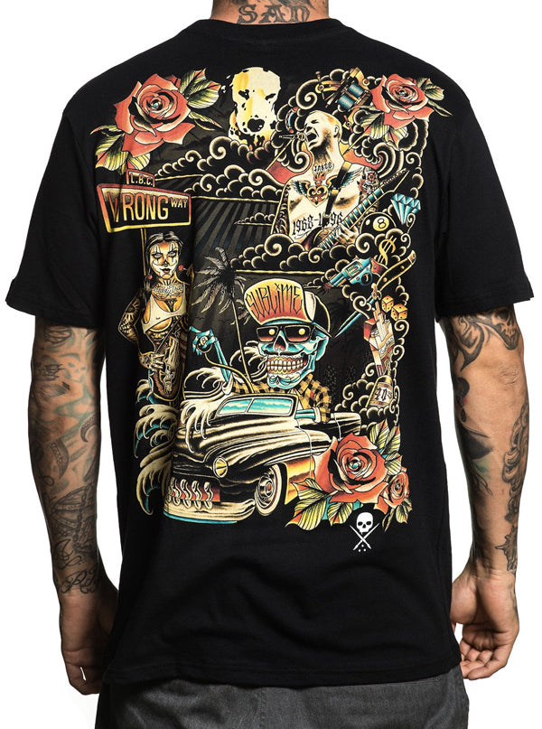 "Men's ""All Wrong"" Tee by Sullen (More Options)"