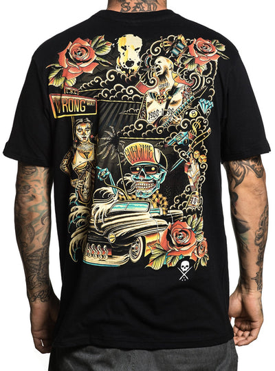 Men's All Wrong Tee by Sullen