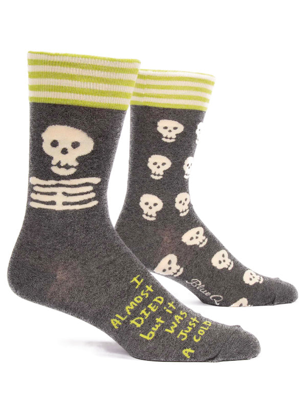 Men's I Almost Died Crew Socks